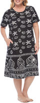 Asstd National Brand Knit Nightgown-Plus