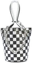 Alexander Wang checkered bucket bag