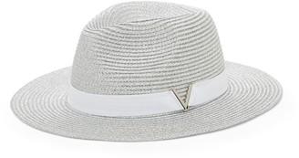 Vince Camuto Metallic Wide-brim Hat