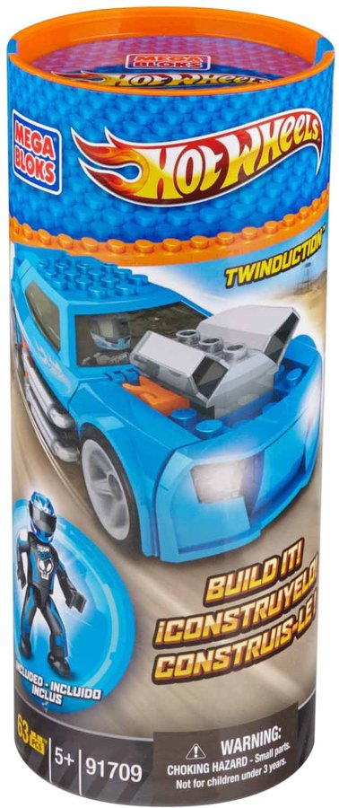 Mega Bloks HW Twinduction (Blue)