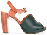 Chie Mihara Casse sandals - women - Calf Leather/rubber - 37.5