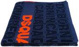 DSQUARED2 logo print towel - men - Cotton - One Size