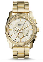 Fossil Machine Chronograph & Date Bracelet Watch
