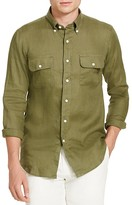 Polo Ralph Lauren Linen Utility Classic Fit Button Down Shirt