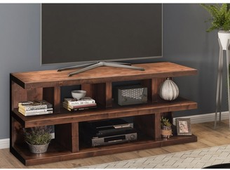 Carbon Loft Grimm Whiskey-finish Wood 64-inch Media Console
