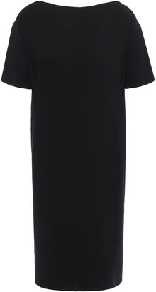 Oscar de la Renta Wool-blend Crepe Mini Dress