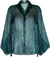 DELPOZO semi-transparent blouse