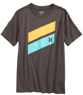 Hurley Boy's 'Icon Slash' Graphic T-Shirt