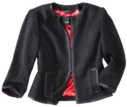 Mossimo Womens Cropped Wool Jacket