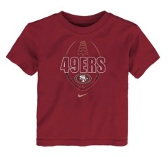 Nike Toddler San Francisco 49ers Icon T-Shirt