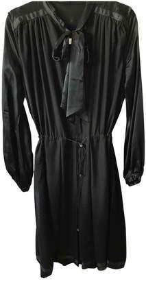 Preen Black Silk Dress for Women