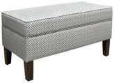Skyline Furniture Cross Section Storage Bench