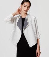 LOFT Wool Knit Jacket