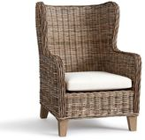 Pottery Barn Santa Ana Wingback Occasional Chair