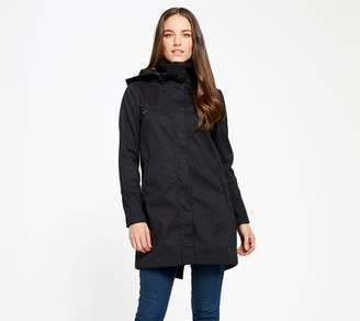 Mia Melon Fleece-Lined Waterproof Cotton Jacket- Stella