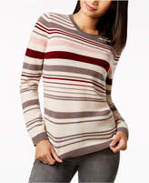 Charter Club Cashmere Striped Sweater, Only at Macy's