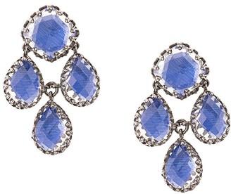 Larkspur & Hawk Antoinette Girandole Cobalt earrings