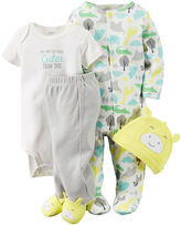 Carter's 4-pc. Giraffe Layette Set - Babies newborn-24m
