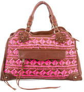 Rebecca Minkoff Woven Morning After Bag
