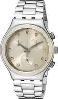 Swatch Women's YCS583G Irony Chrono Analog Display Quartz Watch