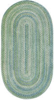 Capel Area Rug, Sailor Boy Oval Braid 0470-200 Sea Monster 3' x 5'