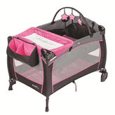 Evenflo Portable BabySuite 300 Play Yard - Pink Party Koi