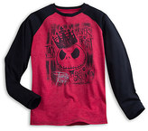 Disney Jack Skellington Long Sleeve Raglan Tee for Men