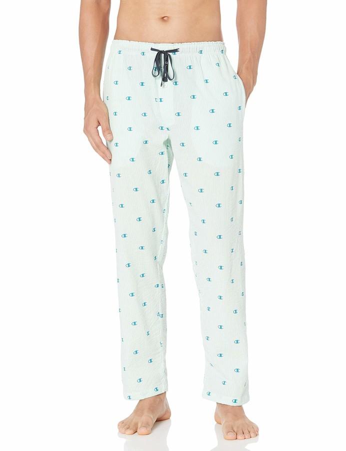 Champion Mens Cambridge Brushed Cotton Check Nightwear Pyjamas