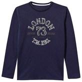 Pepe Jeans Navy Long Sleeve London Tee
