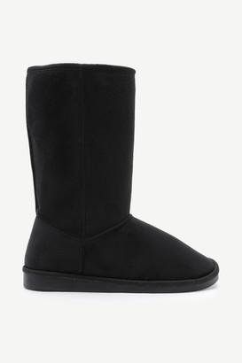 Ardene Faux Sherpa Moccasin Boots