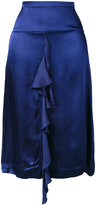 Bellerose ruffle trim skirt - women - Viscose - 3