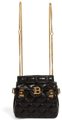 Balmain B-Buzz 18 Quilted Backpack