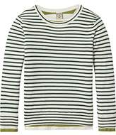 Scotch & Soda Shrunk Boy's 2-in-1 Pullover with Tee Jumper