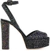 Giuseppe Zanotti Design Betty glitter platform pumps