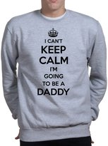 Customised Perfection Keep Calm Daddy - Father's Day Gift For Dad (Papa) Sweatshirt M