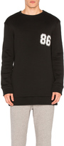 Helmut Lang Oversized Varsity Sweatshirt