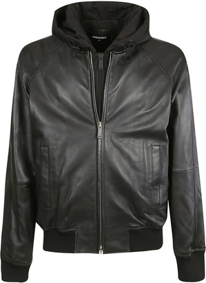 DSQUARED2 Hooded Zip Bomber
