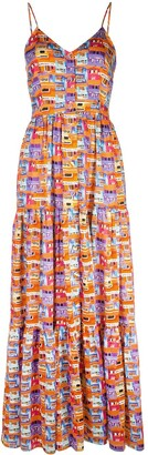 Lhd Printed Summer Dress