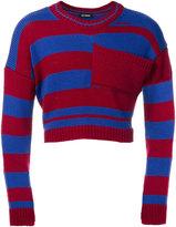 Raf Simons stripe knit jumper
