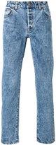 Umit Benan acid wash jeans - men - Cotton/Polyester - 46