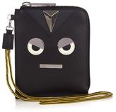Fendi Faces Leather Wallet