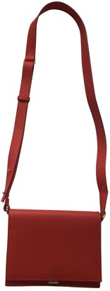 Victoria Beckham Red Leather Handbags