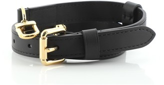Louis Vuitton Short Adjustable Shoulder Strap Leather 18mm