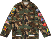 Off-White Off White Camo Field Jacket 'Virgil Abloh'