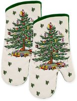 Spode Tree Oven Mitt in Ivory