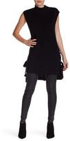 Do & Be Do + Be Cap Sleeve Mock Neck Knit Dress