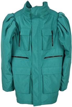 Balenciaga Oversized Puff Sleeves Jacket