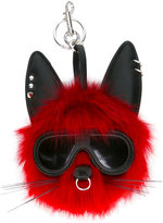 Stella McCartney punk rabbit keychain - women - Modacrylic/Polyester - One Size