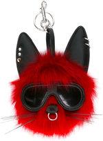 Stella McCartney punk rabbit keychain