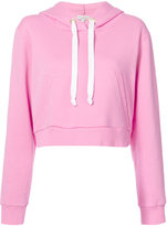 Natasha Zinko cropped hoodie - women - Cotton/Polyester - S